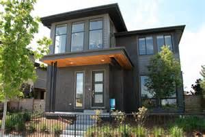 summit brick company black diamond brick on modern homes at the vue at stapleton denver co