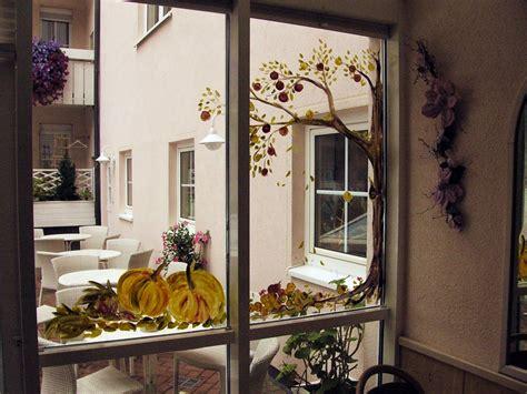 Herbst Fenster Bemalen by Ins Bild Gesetzt Fenster Bemalen Im Hotel Ebner