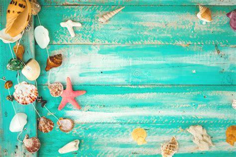 imagenes vintage verano fondo de la playa del verano del vintage imagen de archivo