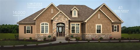 Simple One Floor House Plans by Custom Homes Custom Home Builders Schumacher Homes