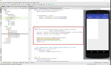 Why Android Studio by Java Android Studio Why Webview Doesn T Load Web Url