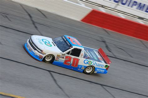 truck racing series goshare sponsors team dillon in nascar truck series