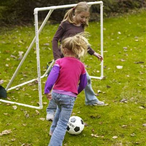 play backyard soccer soccer goal 13 diy backyard games and play structures