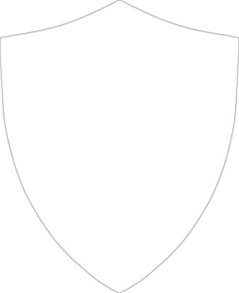 shield outline large hi free images at clker com