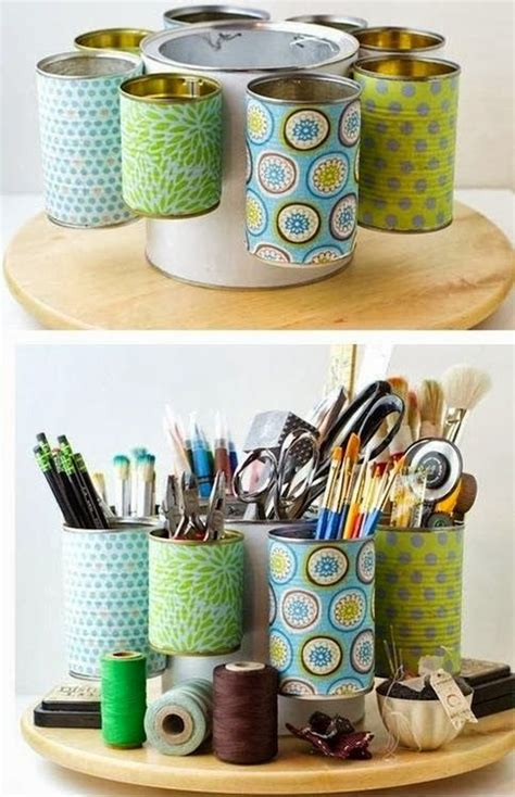 upcycle cans upcycle tin cans to make craft room storage culture scribe