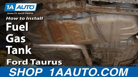 replace fuel tank   ford taurus  auto