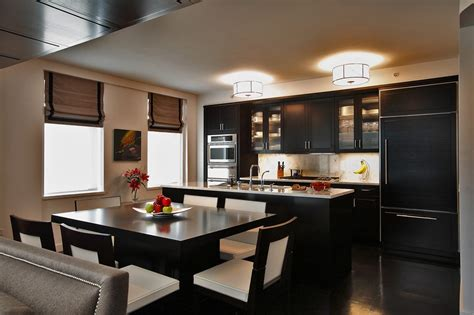 and black kitchen ideas kitchen designs nyc apartment makeover manhattan