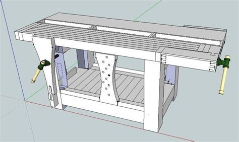 sketchup woodworking tutorials pdf plans workbench plans sketchup wood projects