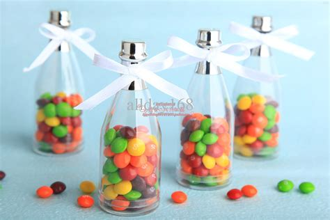 Candy Giveaways - wedding favors chagne bottle candy box gift box decorative favor boxes discount