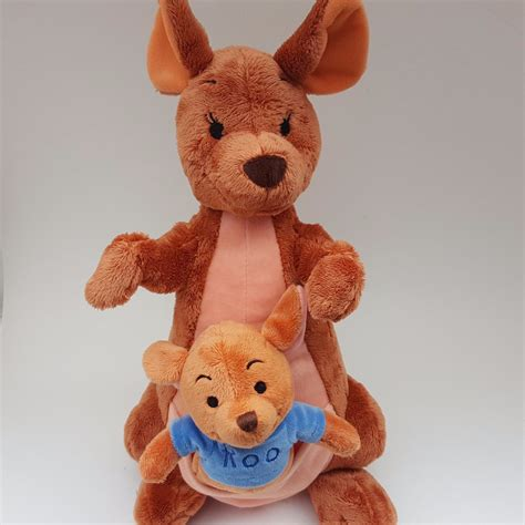 Pouch Winnie The Pooh disney winnie the pooh 13 quot kangaroo kanga roo in pouch