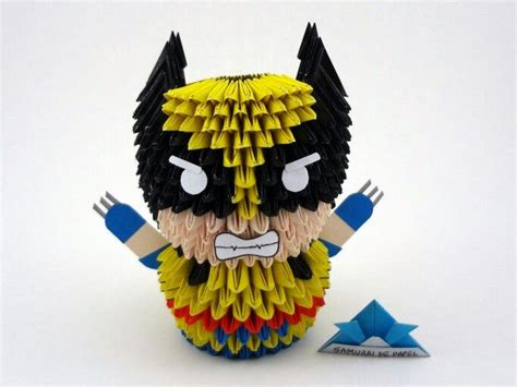 Origami Wolverine - 17 best images about samurai de papel on