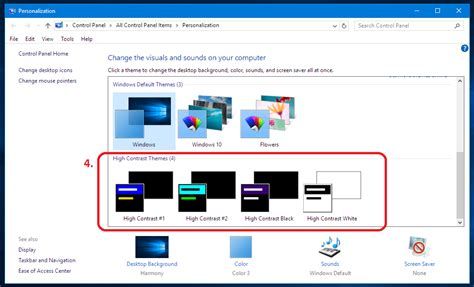 screen color changer how to change text and background color in windows 10