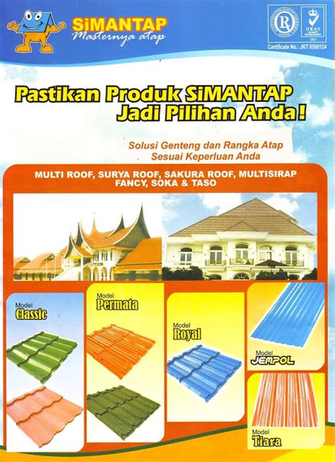 Seng Multiroof Makassar supplier bahan bangunan harga atap soka jempol