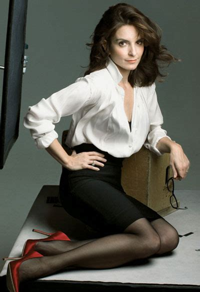 Tina Fey Vanity Fair okay to wear shoes with black hose after 40 fabulous after 40