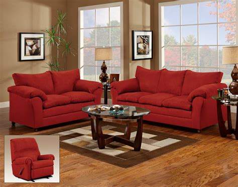 red couch and loveseat red sofa sets amazing of red sofa set with leather