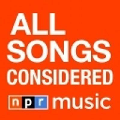 all song all songs considered allsongs