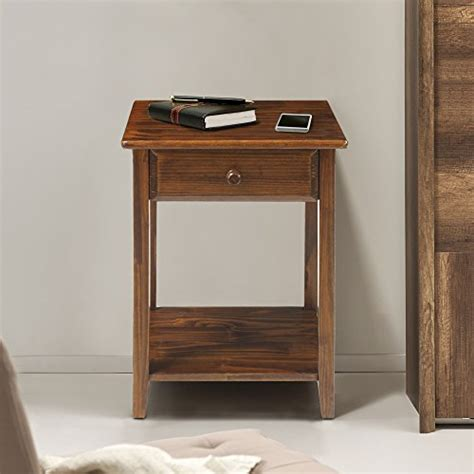 nightstand l with usb port casual home 647 24 night owl nightstand with usb ports