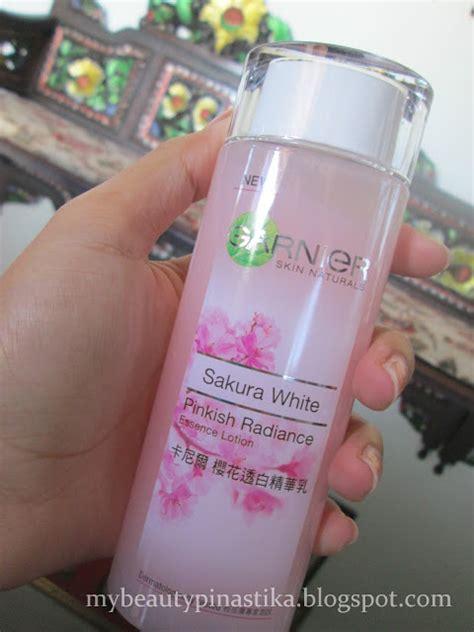 Masker Garnier Pink pinastika review garnier white