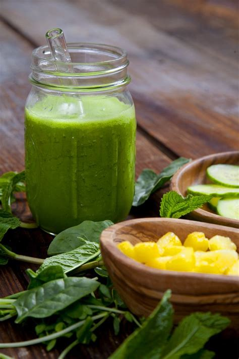 Pineapple Cucumber Detox Smoothie by 1000 Images About Alkaline Balanced Green Juice