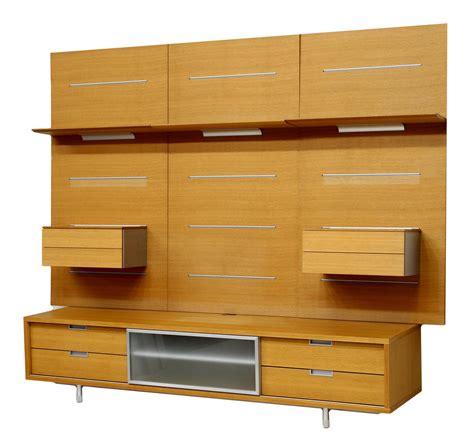 entertainment shelving units modern oak entertainment shelving unit june mid century