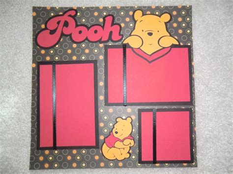 Disney Idea Book Scrapbooking And Crafting Ideas 20 best images about winnie the pooh on disney