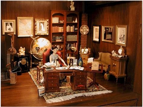 layout of nero wolfe s office nero wolfe brownstone office miniatures by nadine