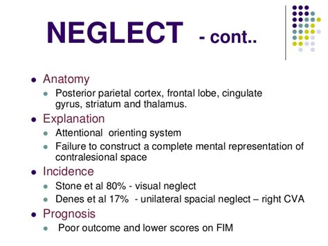 Letter Cancellation Test Unilateral Neglect recovering repressed visual memories and in parietal lobe