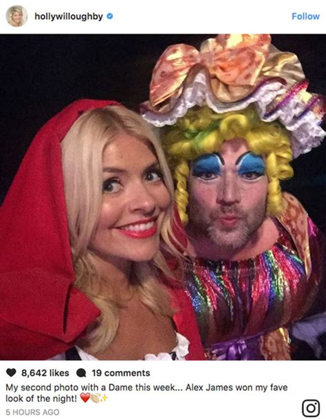 celebrity juice halloween special holly holly willoughby sends fans wild with another sexy