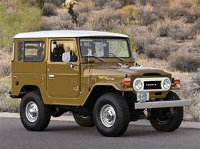 Jeep Toyota Land Cruiser 1977 Toyota Fj40 Land Cruiser