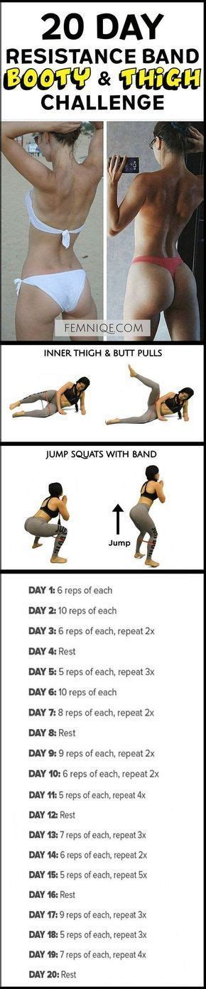 17 best ideas about resistance band workouts on