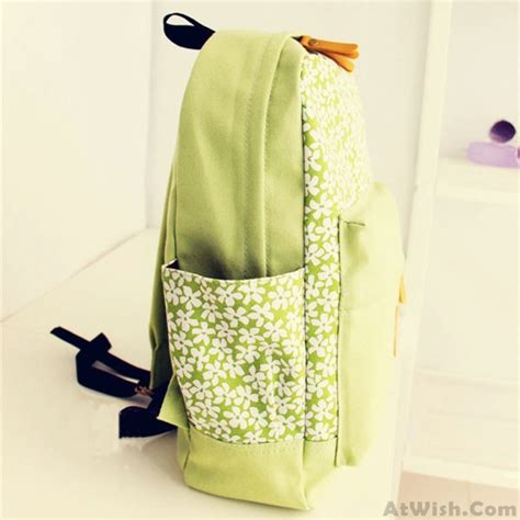 Floral Printed Canvas Backpack fresh floral printed canvas backpack fashion backpacks