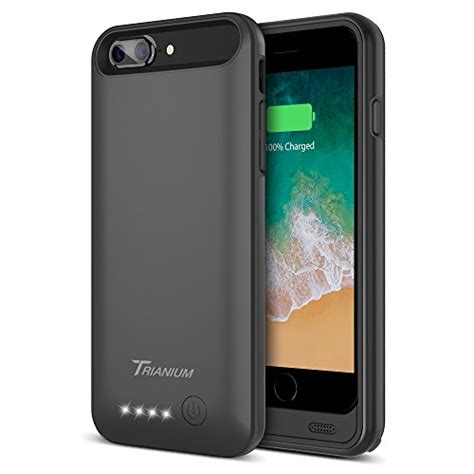 iphone 8 plus 7 plus battery trianium atomic pro 4200mah extended 8 plus battery portable