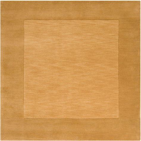 square area rugs 9 x 9 artistic weavers foxcroft gold 9 ft 9 in x 9 ft 9 in square indoor area rug s00151020487
