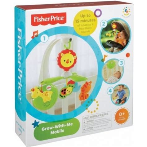 Fisher Price Grow With Me Mobile by Fisher Price Grow With Me Mobile Best Educational Infant