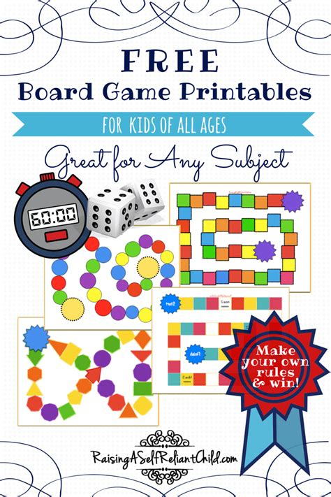 printable science board games free board games printable templates homeschool