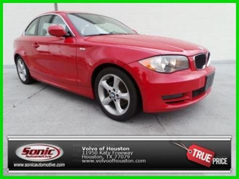 car owners manuals for sale 2011 bmw 1 series user handbook find used 2011 128i manual transmission low miles 1 owner in houston texas united states