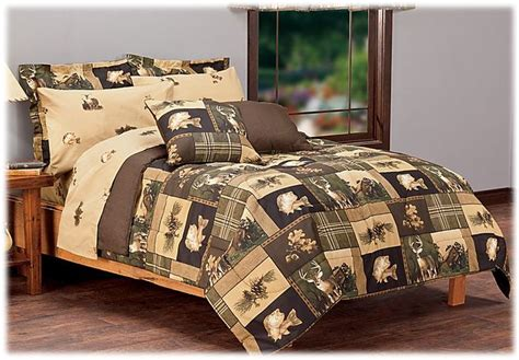 bass pro bedding bass pro shops bass country bed in a bag bedding set