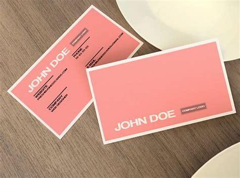 30 Elegantly Designed Free Business Card Templates Skytechgeek Pink Business Card Template