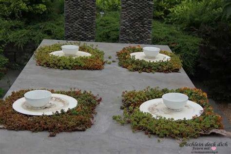 tischdeko pflanzen nat 252 rliche tischdeko tischlein deck dich