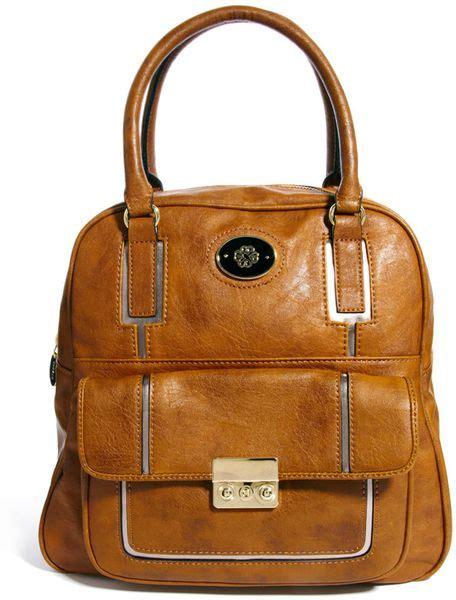 Mischa Bartons Mystery Handbag by Mischa Barton Misha Barton Leeds Tote Bag In Brown