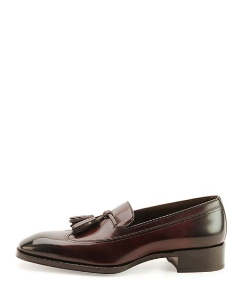 tom ford loafers tom ford gianni tassel front loafer in for lyst
