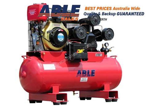 new able sales australia diesel air compressor 11hp 160lt 42cfm 125psi piston compressor in 1