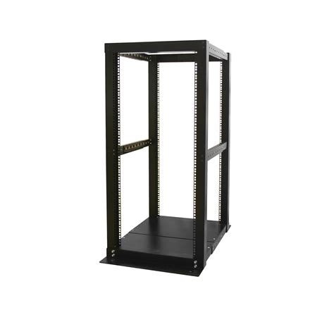 Open Rack startech 25u adjustable depth 4 post open frame server