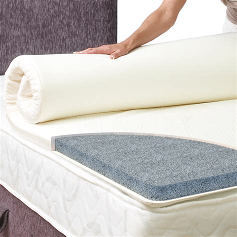 Mattress Topper Coolmax by 5cm 4g Memory Foam Mattress Topper With Coolmax