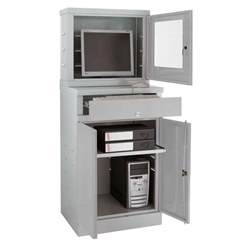 Computer Cabinet Armoire Desk Workstation Enclosed Computer Cabinet Enclosed Computer Workstation