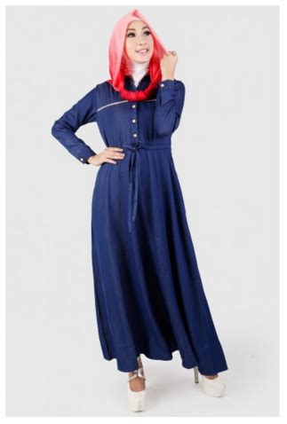 Gamis Wolfis Cantik Limited 2 10 contoh gamis cantik dari katalog zoya busana muslim 2017
