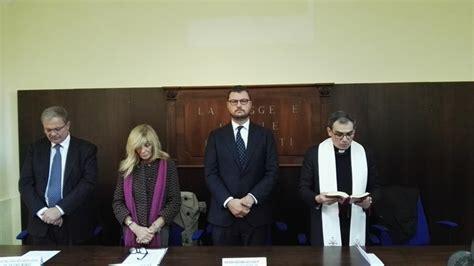 ufficio giudice di pace di napoli aversa il sottosegretario migliore inaugura nuova sede