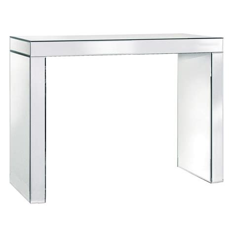 mirrored console table venetian mirrored console table crown furniture