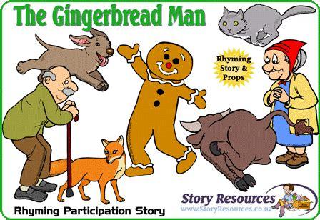 free printable version gingerbread man story gingerbread man