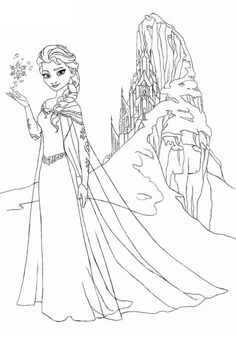 coloring pages frozen elsa let it go coloriage reine des neiges pour les 2 ans du dessin anim 233